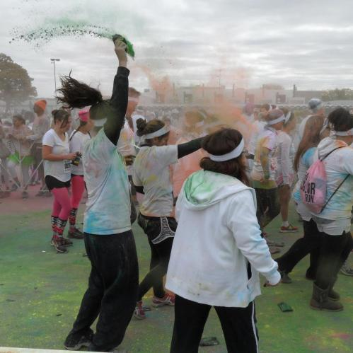 Color Run Iowa | The Black Lion Journal
